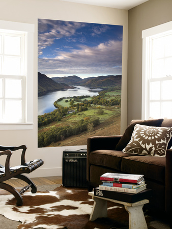 Ullswater, Lake District, Cumbria, England Arte laminado de gran formato