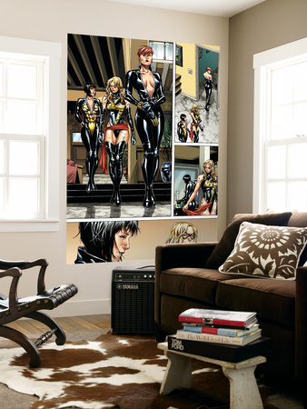 Giant-Size Avengers No.1 Group: Black Widow, Ms. Marvel and Wasp Posters by Jim Cheung