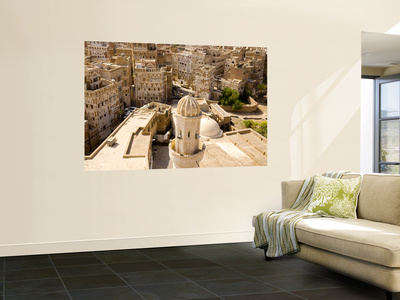 Old City from Top of Burj Al Salam Hotel Giant Art Print