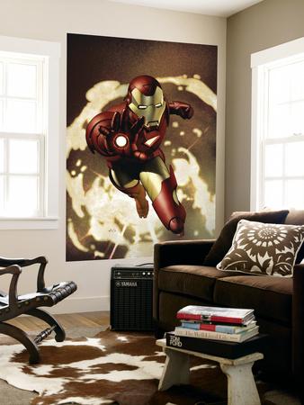 Iron Man No.4 Cover: Iron Man Art by Adi Granov