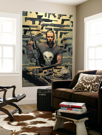 Punisher No.1 Cover: Punisher Giant Art Print