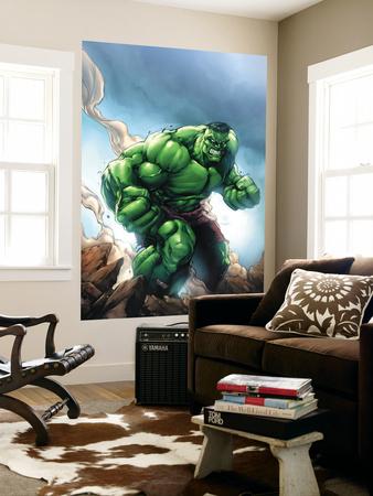 Marvel Age Hulk No.1 Cover: Hulk Print by Shane Davis