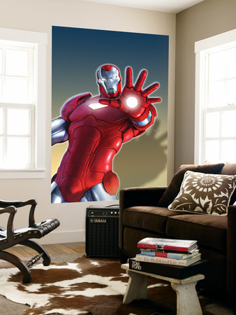 Marvel Adventures Iron Man No.11 Cover: Iron Man Prints