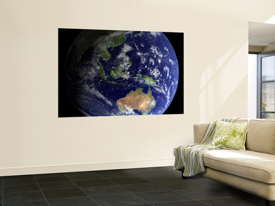 Full Earth from Space Showing Australia Prints