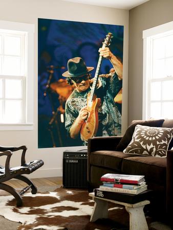Carlos Santana Giant Art Print
