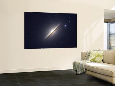 The Sombrero Galaxy Art