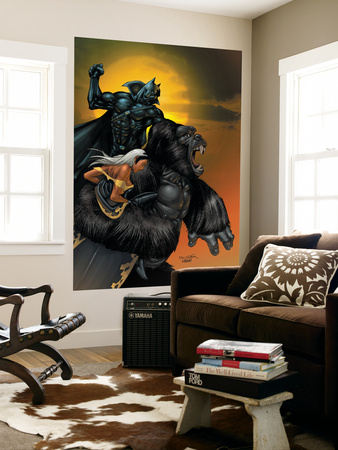 X-Men No.176 Cover: Storm, Black Panther and Super Apes Prints by Salvador Larroca