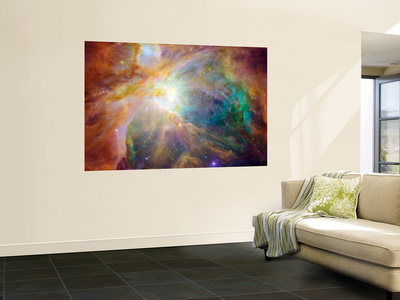 SPAEX 27 nebulosa de Orión Giant Art Print