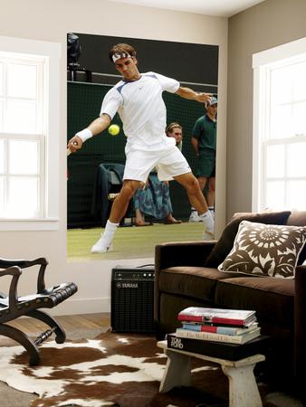 Roger Federer Giant Art Print