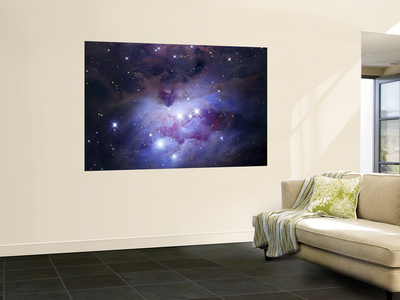 NGC 1977 is a Reflection Nebula Northeast of the Orion Nebula Prints