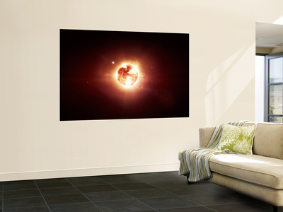 A Dying Star Which Will Soon Give New Beginning to a Black Hole Prints by  Stocktrek Images