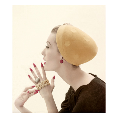 Vogue - September 1955 Photographic Print by Richard Rutledge