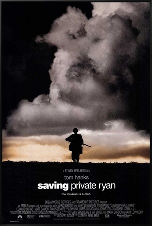Saving Private Ryan Framed Canvas Print