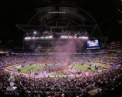 Lucas Oil Stadium after the New York Giants won Super Bowl XLVI Photo