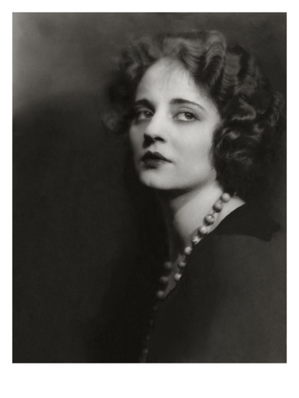 Vanity Fair - August 1923 - Tallulah Bankhead Photographic Print by Maurice Goldberg