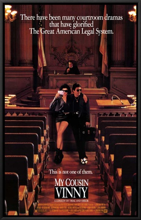 My Cousin Vinny Framed Canvas Print