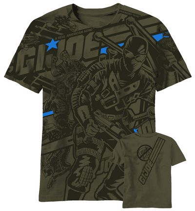GI Joe - Joe Heroes AOP T-Shirt