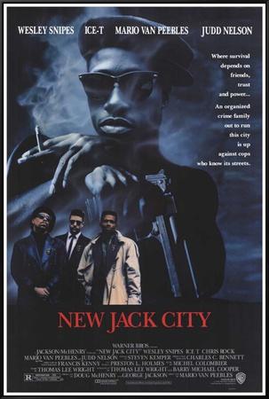 New Jack City Framed Canvas Print