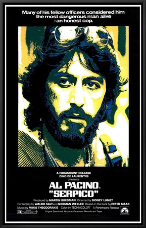 Serpico Framed Canvas Print