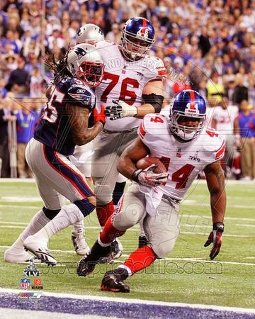 Ahmad Bradshaw Touchdown Run Super Bowl XLVI Photo