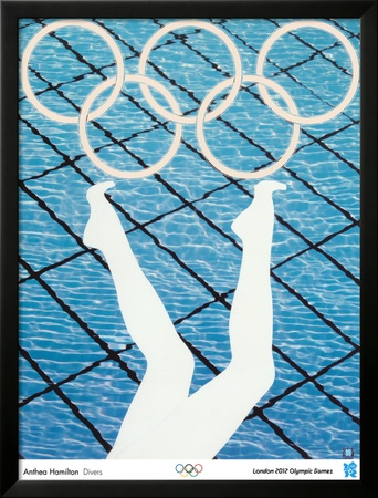 2012 Olympics -Anthea Hamilton-Divers Posters by Hamilton Anthea