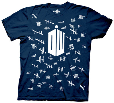 Doctor Who - Tally Marks Shirt