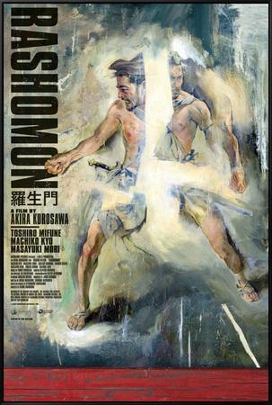 Rashomon Framed Canvas Print