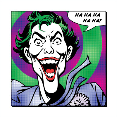 Joker Kunstdruck