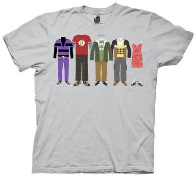 The Big Bang Theory - Group Clothing Shirts