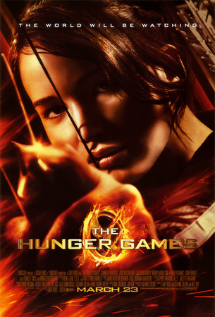 Hunger Games - Katniss Aiming Póster