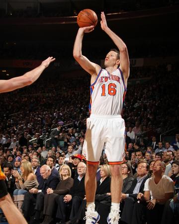 New York Knicks v Los Angeles Lakers, New York, NY, Feb 10: Steve Novak Photo