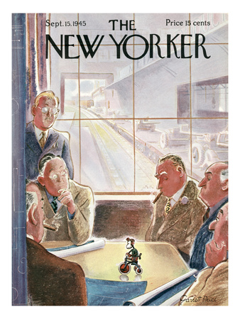 The New Yorker Cover - September 15, 1945 Giclee Print
