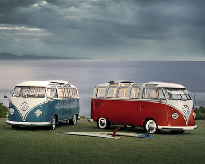 VW-Twin Kombis Mini Poster