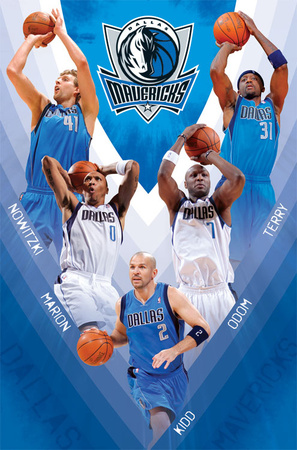 Mavricks - D Nowitzki 2011 Prints