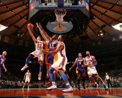 New York Knicks v Los Angeles Lakers, New York, NY, Feb 10: Jeremy Lin Photo by Nathaniel S. Butler