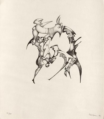 Composition SurréaIIste X Limited Edition by Jules Perahim