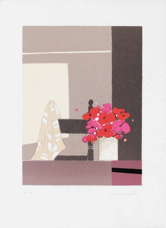 Bouquet IV Collectable Print by André Vigud