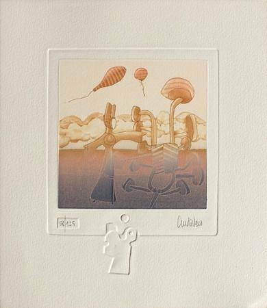 Extra-Terrestres II Collectable Print by Antonio Andivero