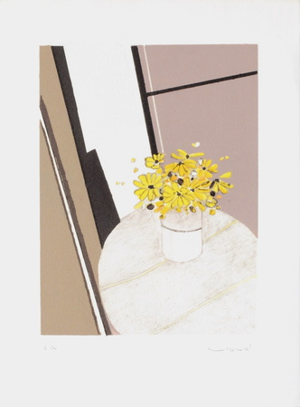 Bouquet V Collectable Print by André Vigud