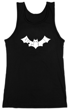 Juniors: Tank Top - Bite Me Bat Womens Tank Tops