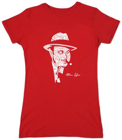 Juniors: Al Capone - Original Gangster T-Shirt