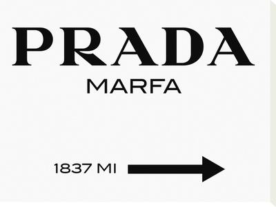 Prada Marfa キャンバスプリント :  Elmgreen and Dragset