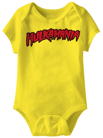 Infant: Hulk Hogan - Hulkamania Onesie T-Shirt