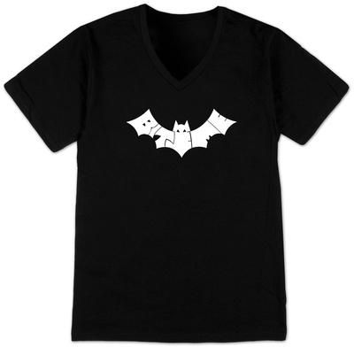 V-Neck - Bite Me Bat V-Necks