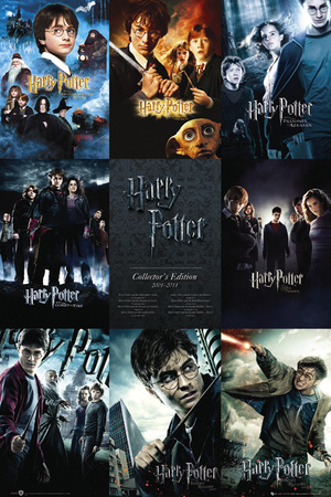 Harry Potter-Collection Plakat