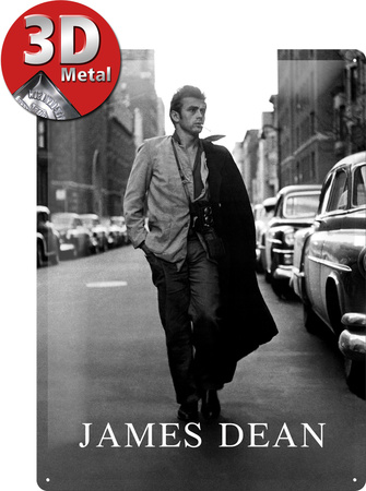 James Dean Road Tin Sign