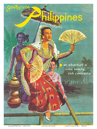 Southern Philippines: An Adventure in Color, Beauty, Rich Contrasts Posters