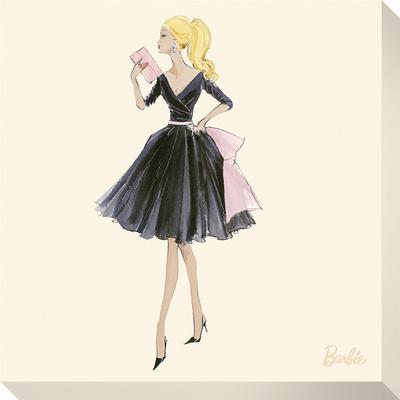 Barbie™, Midnight Mischief Lærredstryk på blindramme