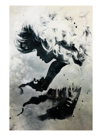 Black Cloud Art by Alex Cherry