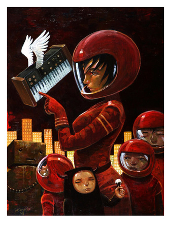 Music Lesson Posters by Aaron Jasinski